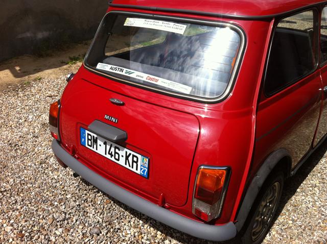 Mini 1000 for Garage mini rouen