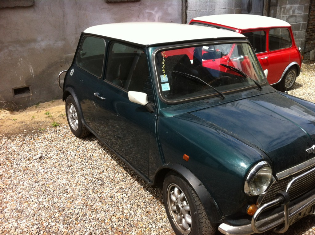 Mini cooper 1992 for Garage mini rouen
