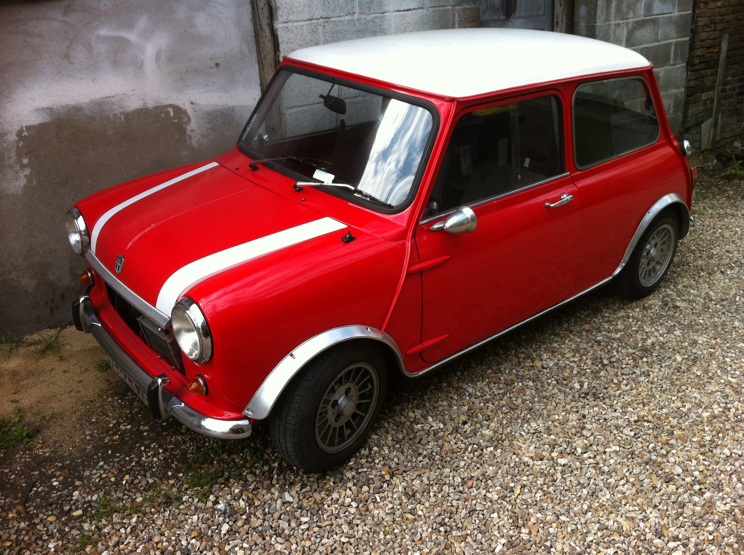 Mini mk2 1968 for Garage mini rue des acacias paris 17