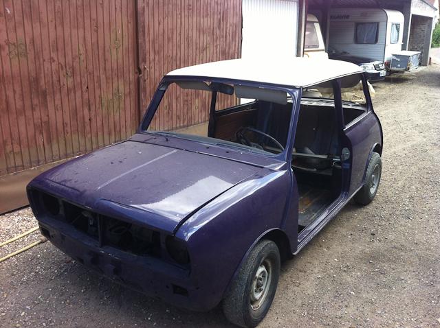 Caisse de mini clubman 1971 for Garage mini rouen