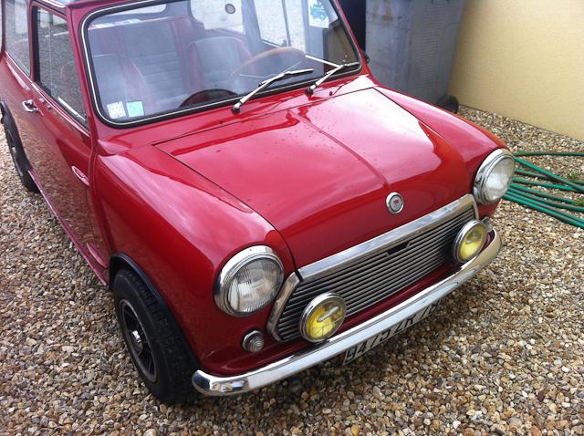 Mini 850cc mk2 1969 for Garage mini rouen