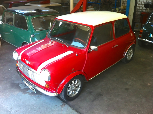 Mini cooper 1993 for Garage mini rue des acacias paris 17