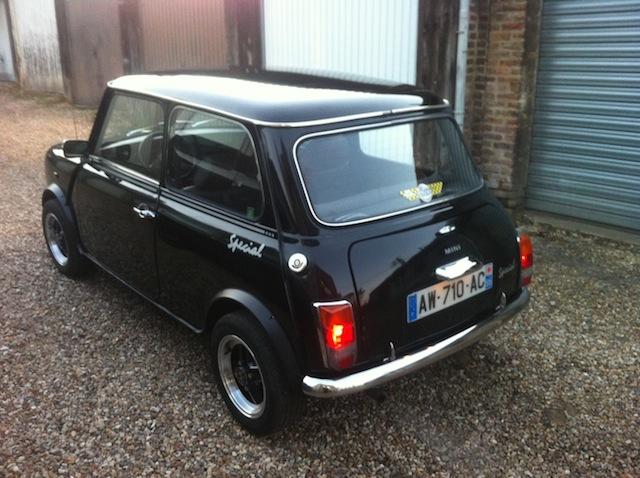 Mini special 1992 for Garage mini rouen